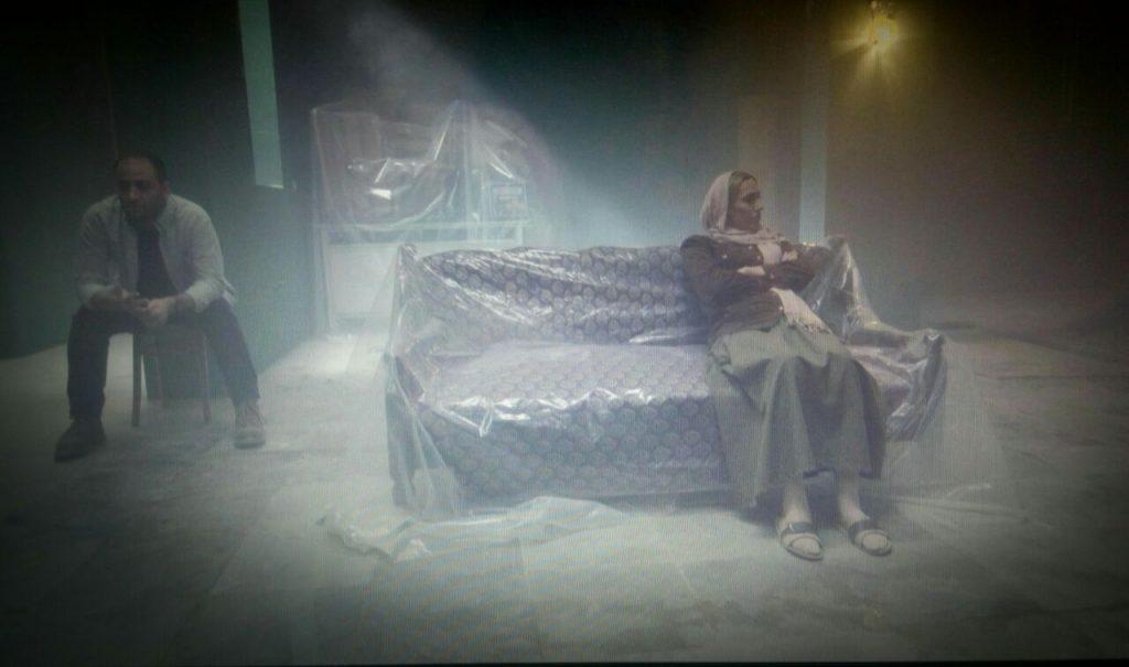 صحنه ای از فیلم فنگ شویی وارونه به کارگردانی زیور حجتی