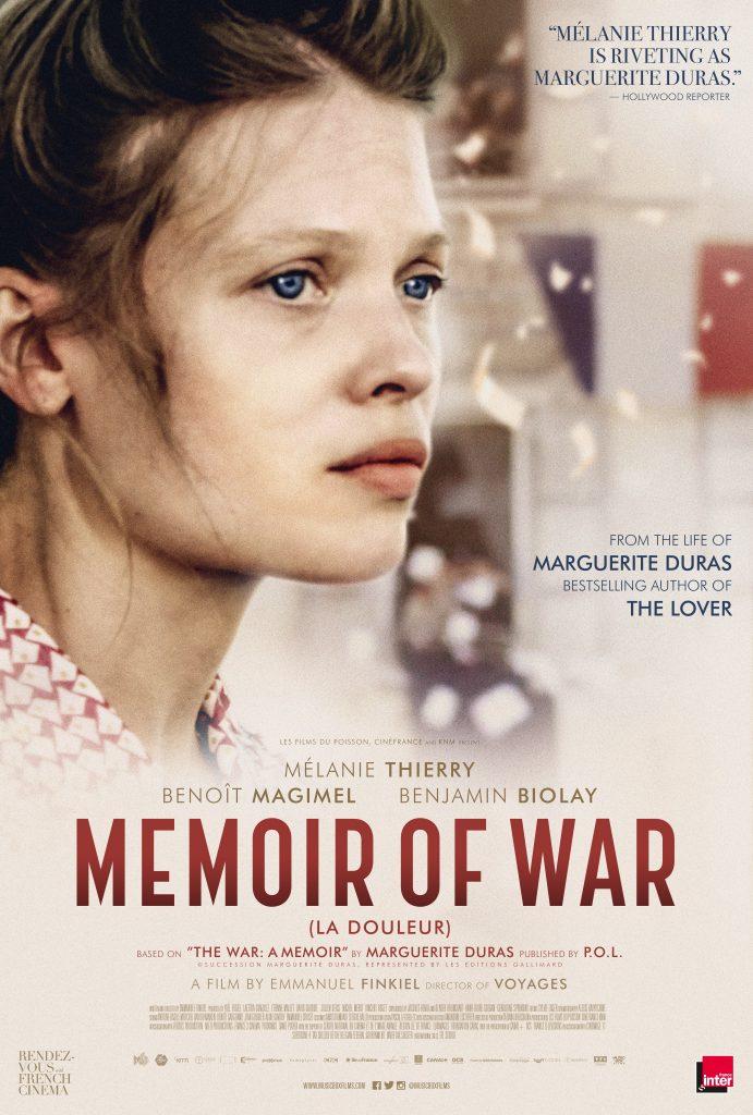 """فیلم """" خاطرات جنگ"""" بر اساس رمان مارگریت دوراس بعنوان نماین ه فرانسه به آکادمی اسکار معرفی شد"""