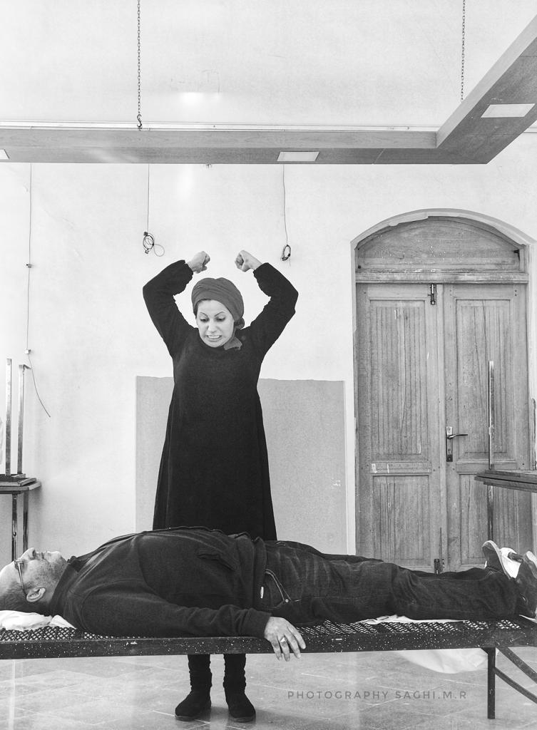 """سالن مهرگان در انتظار تئاتر"""" خواب کشی """" به کارگردانی حبیب نریمانی"""
