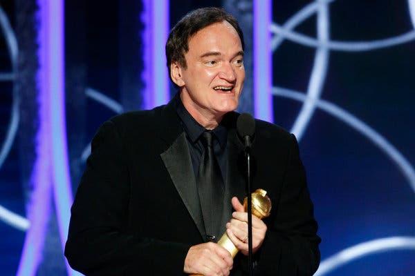 کوینتین تارانتینو برنده گلدن گلوب بهترین فیلمنامه