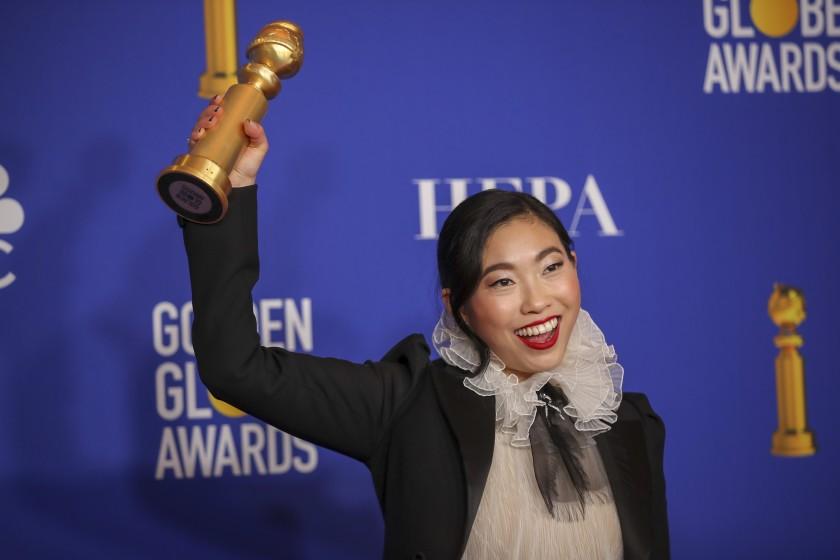 آکوافینا برنده جایزه بهترین بازیگر زن کمدی موزیکال