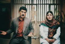 حامد بهداد و باران کوثری در صحنه ای از فیلم گیجگاه ساخته عادل تبریزی