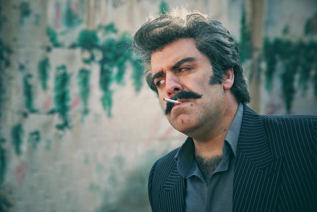 بهرنگ علوی در صحنه ای از فیلم گیجگاه ساخته عادل تبریزی