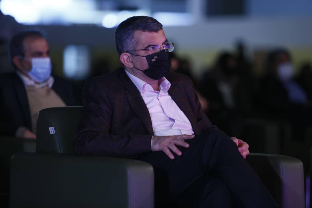 ایرج حریرچی معاون وزیر بهداشت در اختتامیه جشنواره فیلم کوتاه تهران