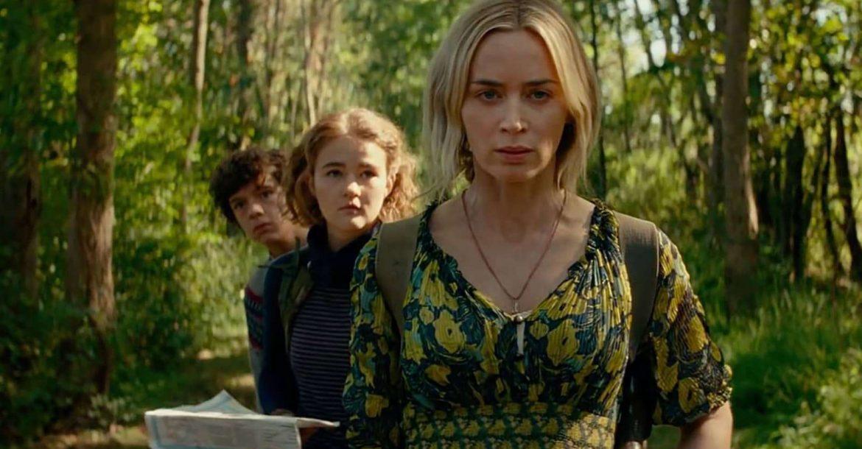 امیلی بلانت در فیلم یک مکان ساکت۲