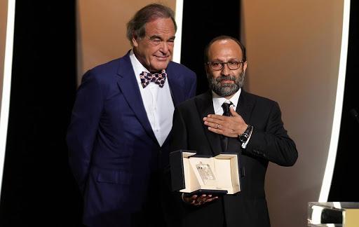 اصغر فرهادی با فیلم قهرمان برنده جایزه بزرگ جشنواره کن